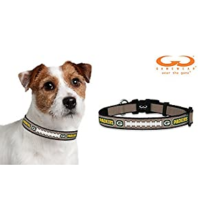 NFL Green Bay Packers Reflective Football Collar