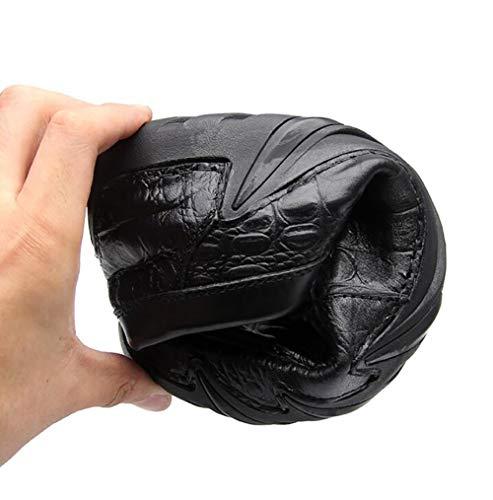 Di 42 Black Pelle Cuoio Uomo E Scarpe Pigro Comodo Di Guida Casual Scarpe Di Indossabile Scarpe HxqSnpwRd