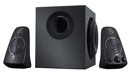 Logitech Z623 - 200 Watt Speaker System 980-000402 (Black) (Certified Refurbished) by Logitech