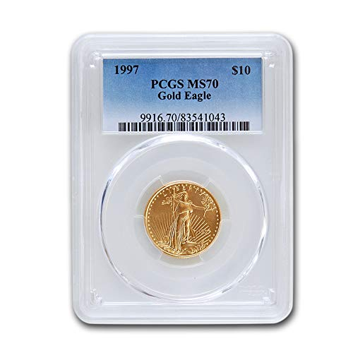 1997 1/4 oz Gold American Eagle MS-70 PCGS Gold MS-70 PCGS