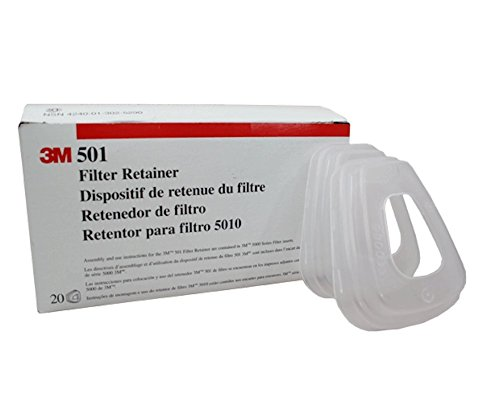 3M 17668 501 Filter Retainer, System Component, 4.24
