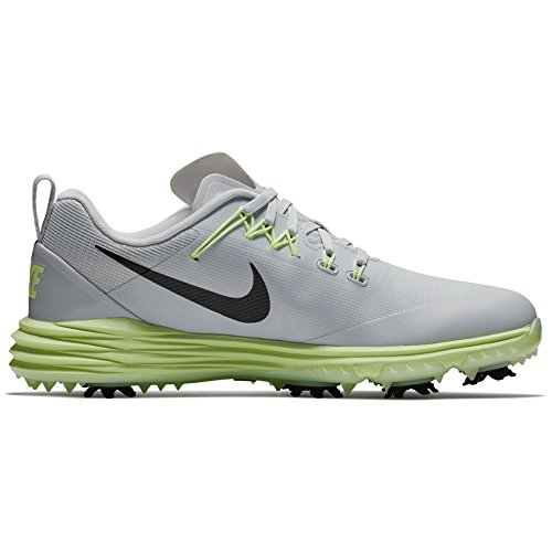 (Nike Lunar Command 2 Golf Shoes Women Pure Platinum/Black/Barely Volt Medium 8.5)