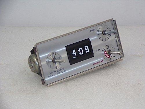(Whirlpool 7601P033-60 Automatic Clock Genuine Original Equipment Manufacturer (OEM) Part)