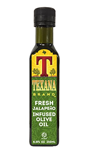 Texana Brand Jalapeno Infused Olive Oil