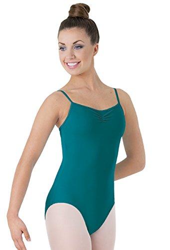 - Balera Classic Dance Leotard Camisole Style Pinch-Front Neckline