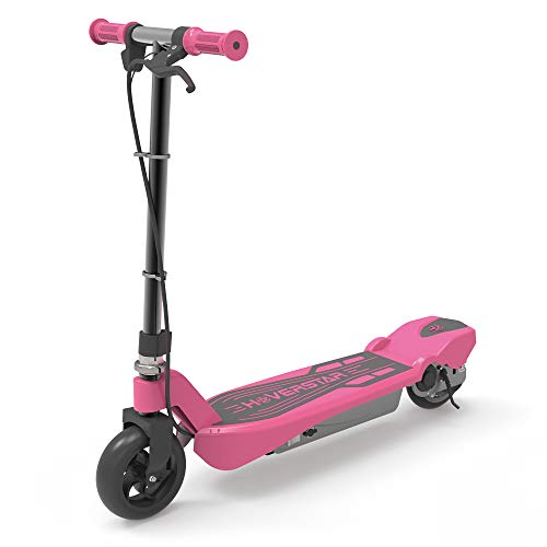 HOVERSTAR Electronic Scooter for Kids (Pink) (Girls Purple Electric Scooter)