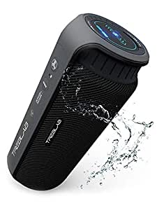 TREBLAB HD55 - Deluxe Bluetooth Speaker - Impeccable 360° HD Surround Sound & Best Bass, Great For Office, Travel & Beach Parties, Waterproof IPX4, Loud 24W Stereo, Portable Wireless Blue Tooth w/ Mic