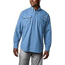 Columbia Men's PFG Bahama II Long Sleeve Shirt, Breathable with UV Protection
