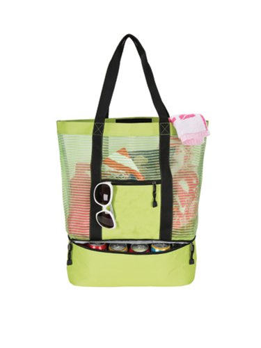 Cheap Goodhope 12-Can Lightweight Cooler Tote Bag Lime
