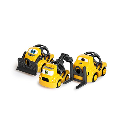 Oball Go Grippers John Deere Construction Crusiers Push Vehicles Set, Ages 12 months +