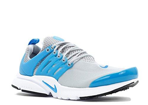 Zapatillas Para Correr Nike Presto Gs Youth Boys Wolf Grey, Foto Azul-blanco-negro