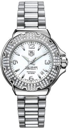 TAG Heuer Women's WAC1215.BA0852 Formula 1 Glamour Diamond Accented Watch