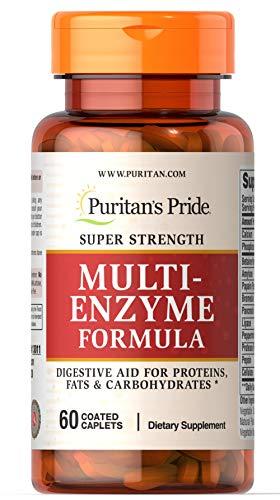 Puritan's Pride Super Strength Multi Enzyme-60 Caplets