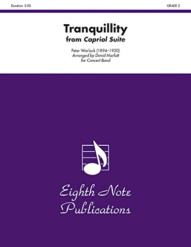 Tranquillity (from Capriol Suite): Conductor Score & Parts (Eighth Note Publications)