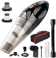 DOFLY Aspirateur à Main sans Fil 8500PA 120W Aspirateur de Voiture Rechargeable avec Lumière LED Filtre HEPA Lavable...