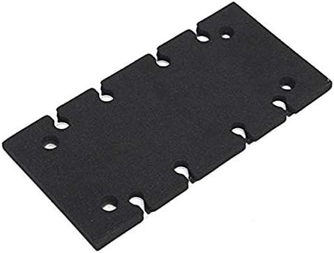 SALAKA Support de Plaque de Base pour Ponceuse Noire 1PC pour pi/èce d/étach/ée Ponceuse