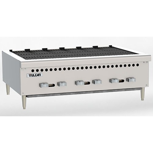 - Vulcan VCRB36 Vulcan VCRB36 - Restaurant Series Gas Radiant Charbroiler, 36W