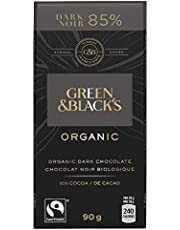 Green & Black's Organic Milk Chocolate with Almonds, 90 Grams