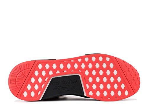 Adidas Originali Mens Nmd_r1 Sneaker Nero / Carbon / Trace Scarlatto
