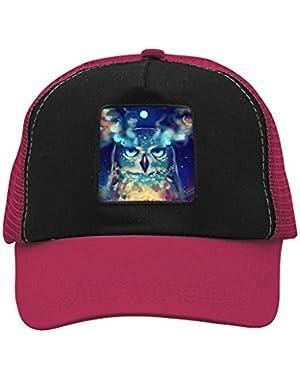 Unisex Owl Painting Adjustable Classic Hiphop Hat Baseball Cap Snapback Dad Hat