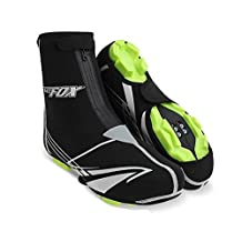 Cycling Overshoes Covers, DeepCamp Outdoor Sports Bike Shoe Covers Waterproof Warmer Overshoes Shoe Booties Cover for Men Women MTB Winter Rain Cycling Bicycle Cycle Mountain Road Toe Cover