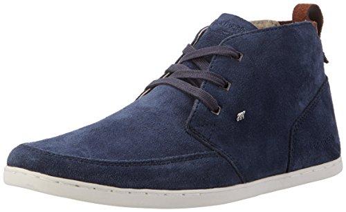 Boxfresh Herren Symmons Ch Nvy Sneaker Sde Hohe Blau (marine)
