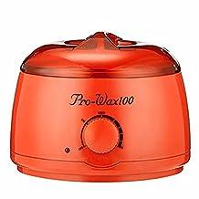 Youke Hot Wax Warmer Wax Heater Melt Hard Wax Beands Portable Electric Wax Melting Pot for Hair Removal ( Orange)