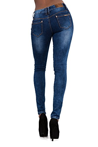 LustyChic - Vaqueros - para mujer Navy Blue Ripped
