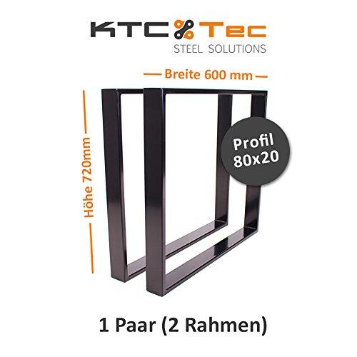 KTC Tec–Structure Table en Acier, tr80s, 600mm de Largeur