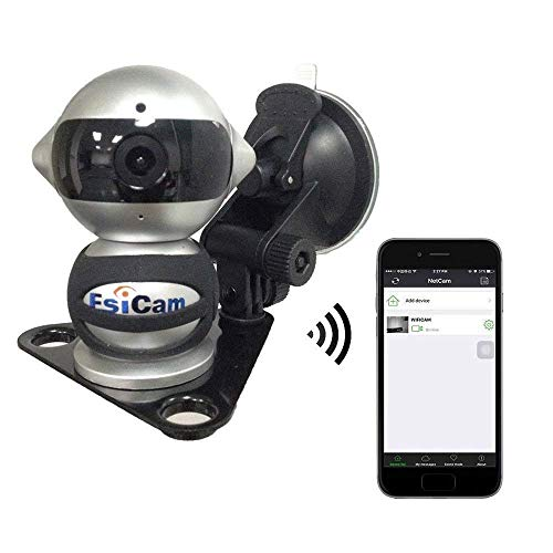 EsiCam Robot Wireless Camera for Smart Phone HD Two Way Audi