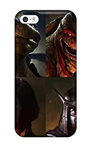 EVWFGIg4619esJWF Anti-scratch Case Cover ZippyDoritEduard Protective Teenage Mutant Ninja Turtles 2 Case For Iphone 5/5s(3D PC Soft Case)