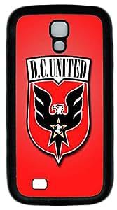 DC United Custom Samsung Galaxy I9500/S4 Case Cover TPU Black