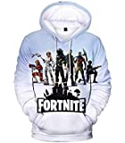 3D Fortnite Game Roles Hoodies Novelty Sweater Thin Fleece Pullover Pocket For Women Men fashion Streetwear Clothing Hooded Sweatshirt Hoody casual Pullover,Size S