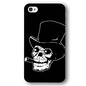Skull with Top Hat and Cigar For SamSung Galaxy S5 Case Cover Slim Phone Case