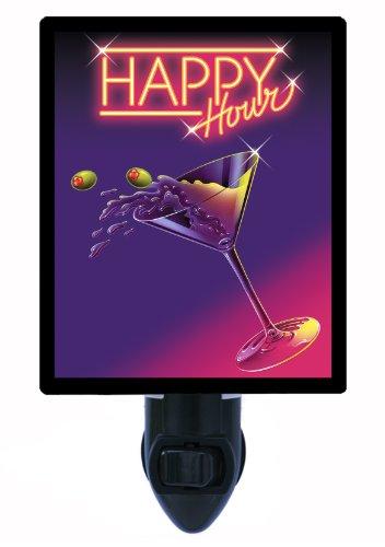 Kitchen and Bar Night Light, Happy Hour, Martini
