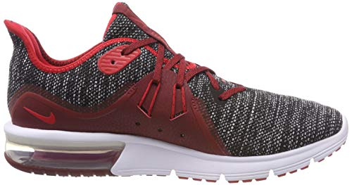 Red Uomo University Black Scarpe Running Nike Multicolore 3 Sequent Air Red Max White 015 Team BqwBYfRO