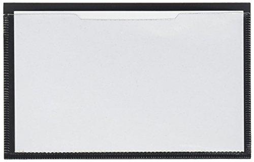 "Tatco Magnetic Label Holder - 3.4"" x 5.4"" - Vinyl - 10 / Pac"