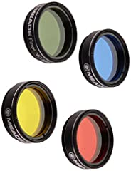 The Meade 07530 Series 4000 Color filter set No. 1 enhances the contrast of the Moon and planets in more visual and photographic images. These filters thread into the barrel of Meade 1. 25-Inch eyepieces and works for almost all other Brands ...