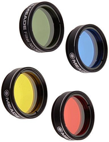 Meade 07530 Series 4000 Color Filter Set No.1 (Black) by Meade Instruments