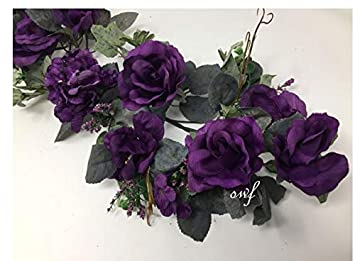 Amazon 28 Crinkle Rose Swag Artificial Silk Wedding Bridal