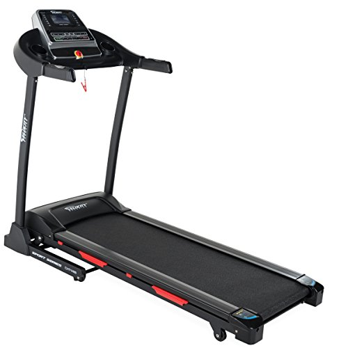 Velocity Exercise Foldable Electric Treadmill