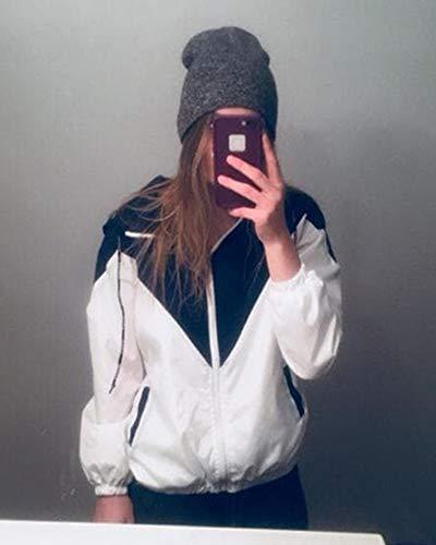 Printemps Minetom 2018 Hiver a Mode Automne Femme Veste Capuche nrRr4qY6