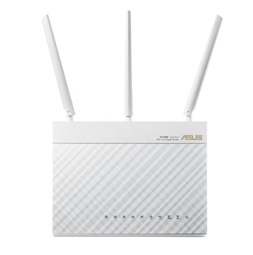 ASUS Wi-Fi Router with Data Rates up to 1900 Mbps (RT-AC68W) by Asus