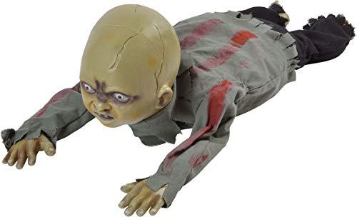 Bristol Novelty Crawling Zombie Baby Multi-colour Size 76cm