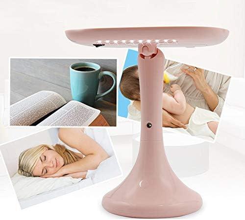 よく作られたUSBデスクトップメイクアップミラーLED美容保湿メイクアップミラーウォータースプレーホワイトピンク 綺麗な (Color : Pink)
