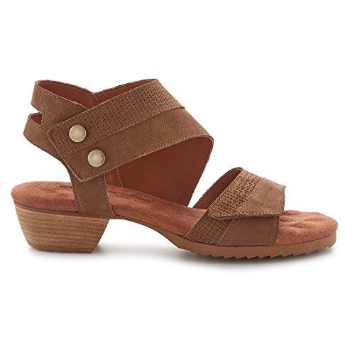 Walking Cradles W-100403 Calista Womens Leather 1 1/4' Heel Rubber Outsole Petite Heel Sandal