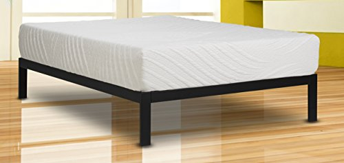 (Wolf Composure Wrapped Coil and Latex Hybrid Mattress and Platform Set, Full)