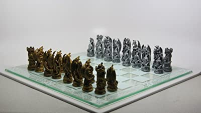 Fantasy Dragon Chess Set
