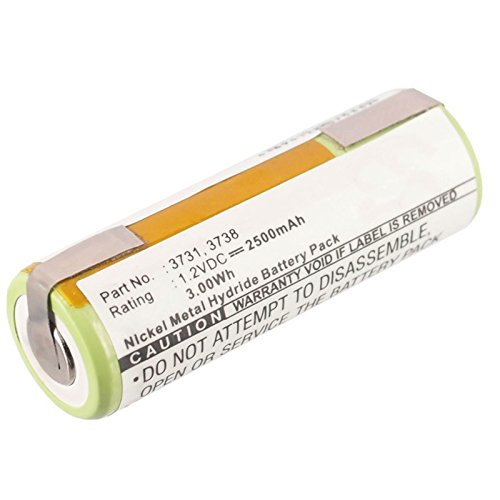 Exell Electric Toothbrush Battery for Oral-B Dental Care/Hyg