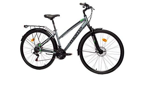 🥇 Moma Bikes Bicicleta Trekking / Paseo TREKKING PRO W 28″